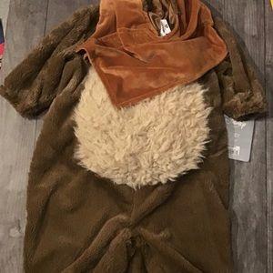 Disney Star Wars Ewok Infant costume 3-6m
